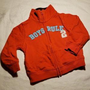 Carter's zip-up sweatshirt